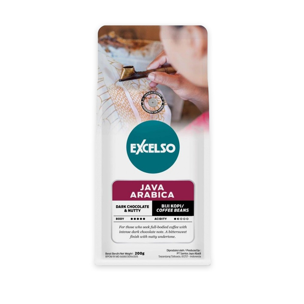EXCELSO JAVA ARABICA BIJI 200G