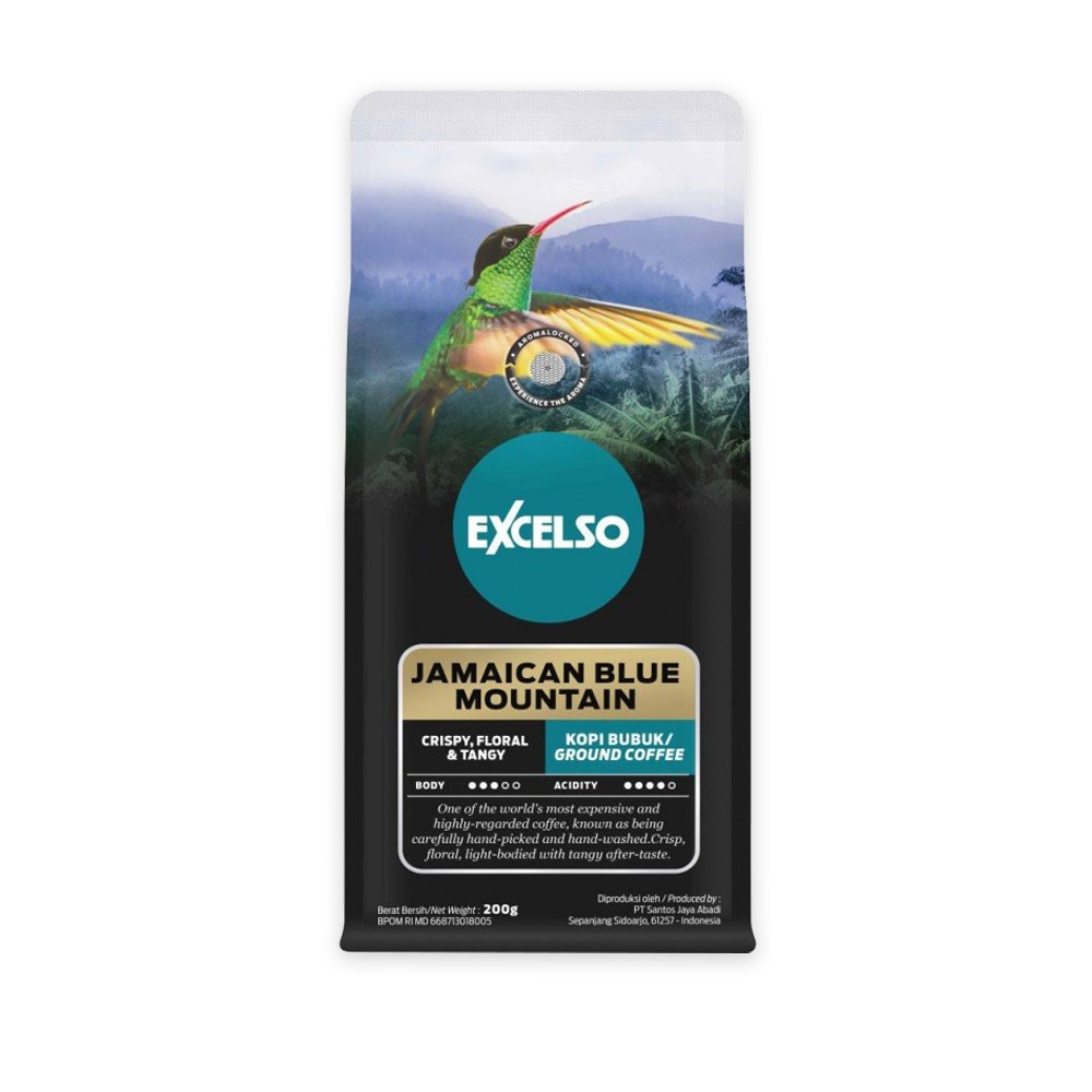 EXCELSO JAMAICAN BLUE MOUNTAIN BUBUK 200G