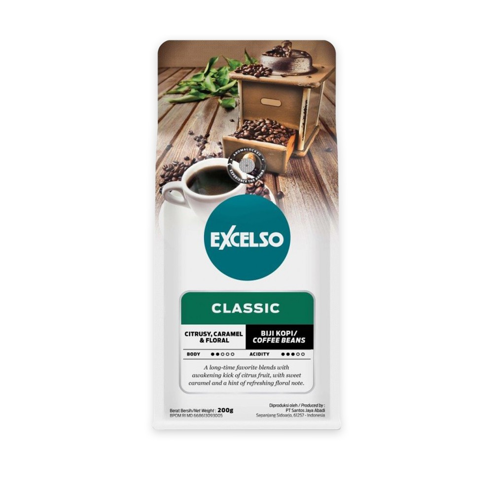 EXCELSO THE CLASSIC BIJI 200G