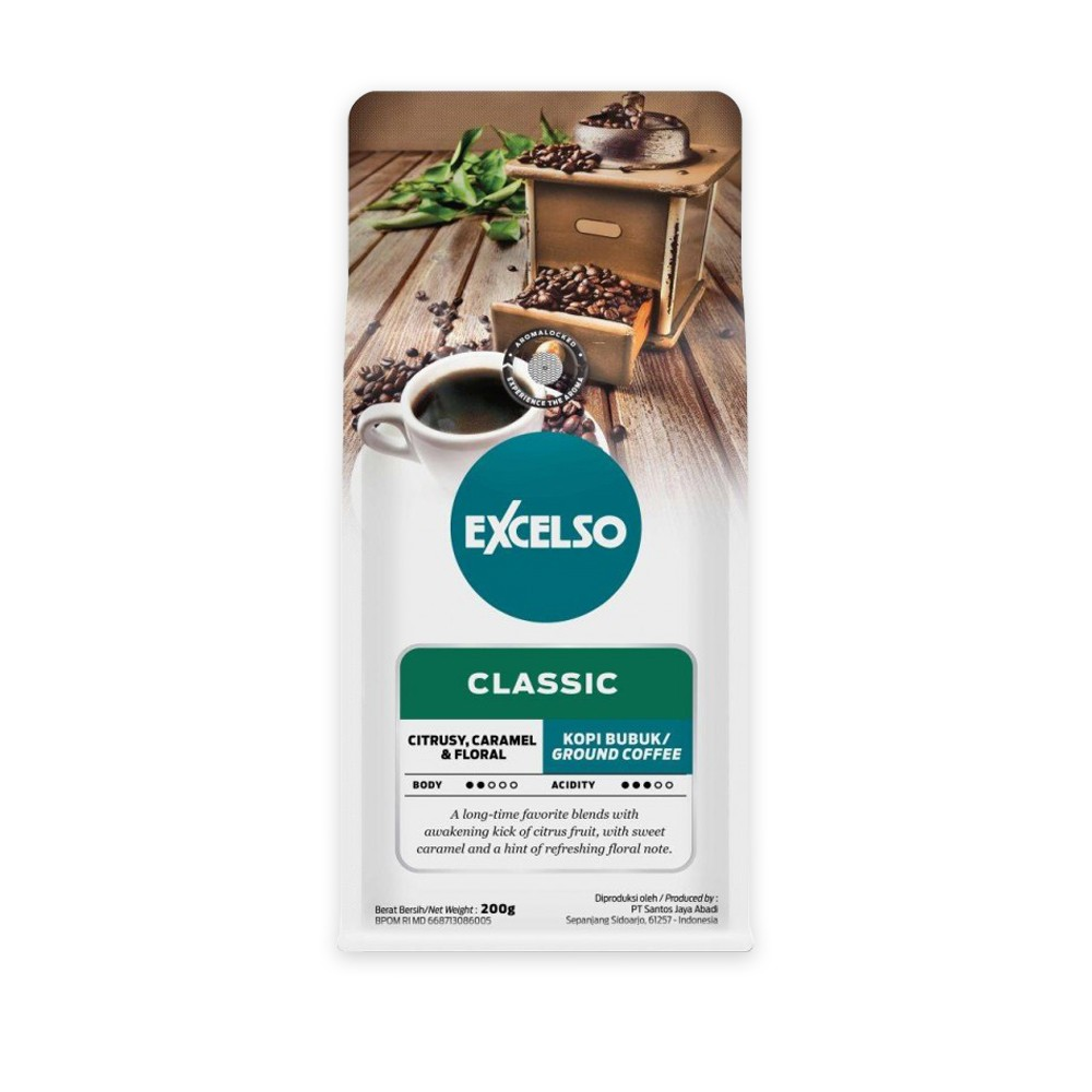 EXCELSO HOUSE BLEND BUBUK 200G
