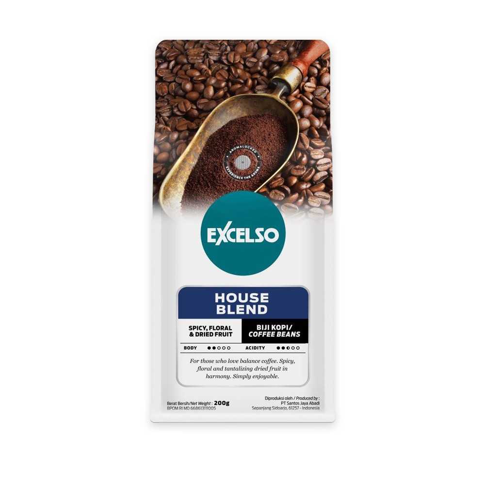 EXCELSO HOUSE BLEND BIJI 200G