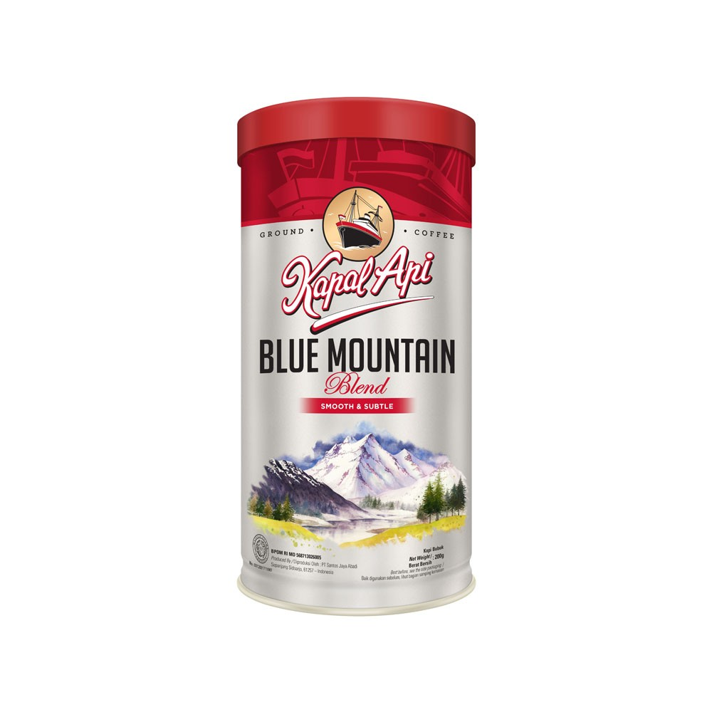 KAPAL API BLUE MOUNTAIN BLEND BUBUK TIN 200G