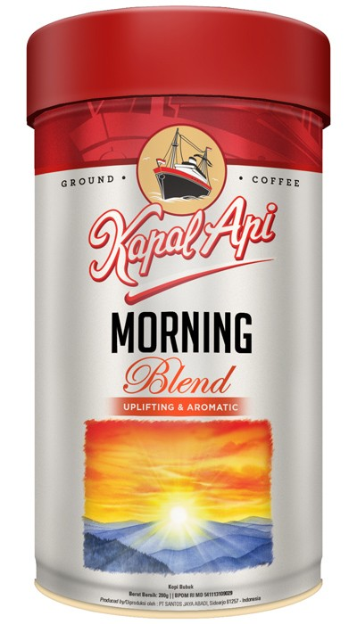 KAPAL API MORNING BLEND BUBUK TIN 200G